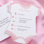 Baby Shower Girl Invite