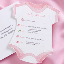 Wilton Baby Shower Girl Fill In Baby Shower Invitations