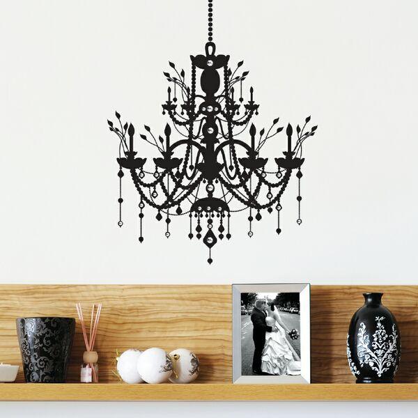 Dcwv Home Wall Decor : Dcwv home wall art black vinyl with rhinestones