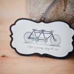 Chipboard Bicycle Tag