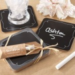 Chalkboard Coasters set of 4