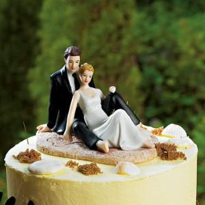 Beach Bride & Groom Topper