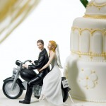 Couple on Motorcycle topper