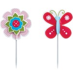 Butterfly and Flower Toppers