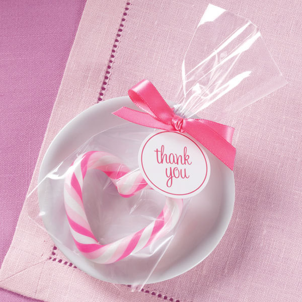 Wilton favors pink candy heart creations by hand - Wilton baby shower favors ...