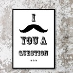 Moustache Wall Art